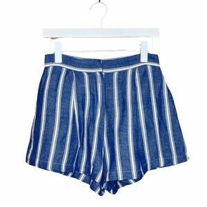 Rails Lightweight Cotton Striped Shorts Blue S